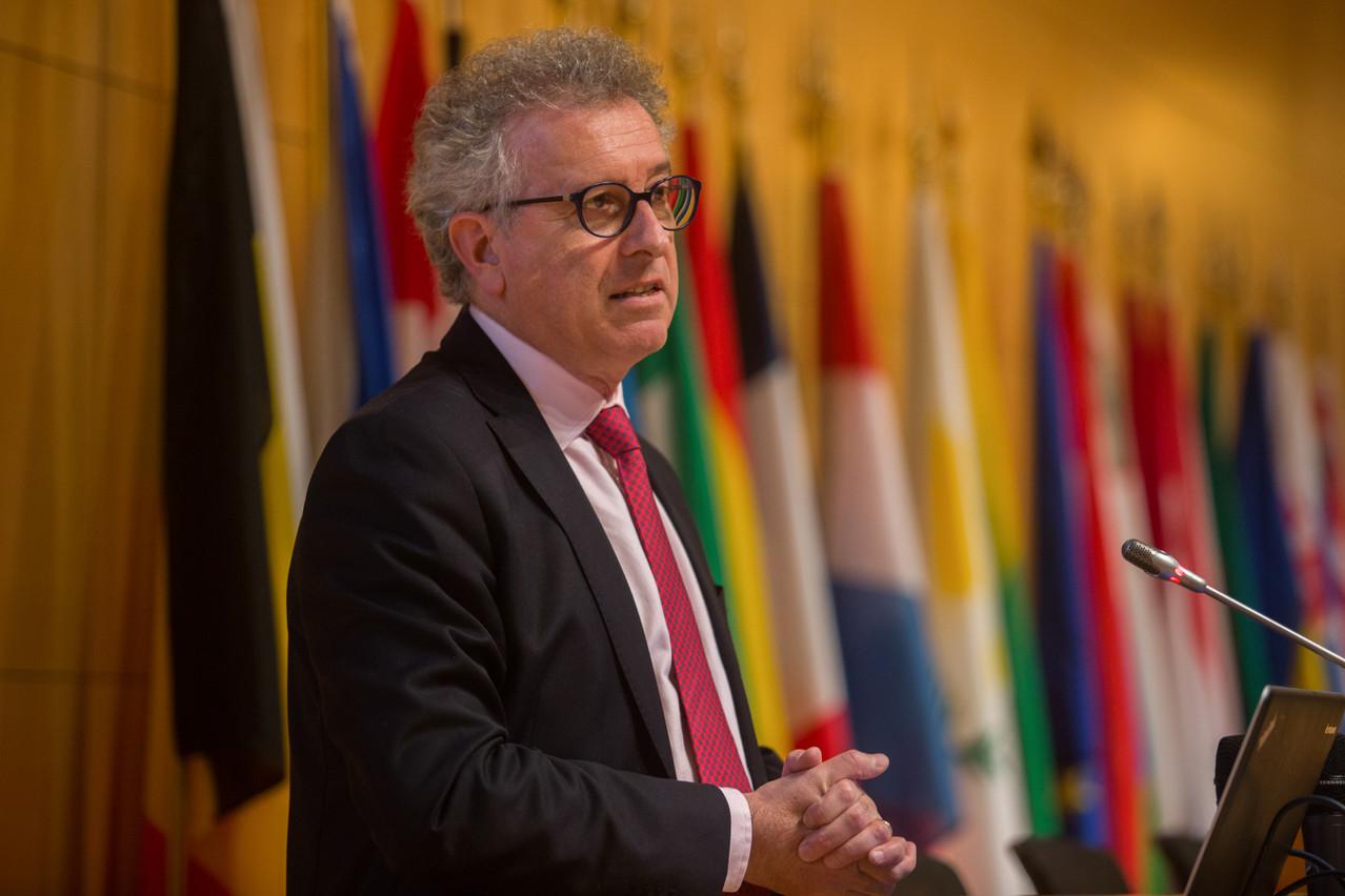 Le ministre Pierre Gramegna déposera son budget ce matin à la Chambre des députés. (Photo: Matic Zorman)