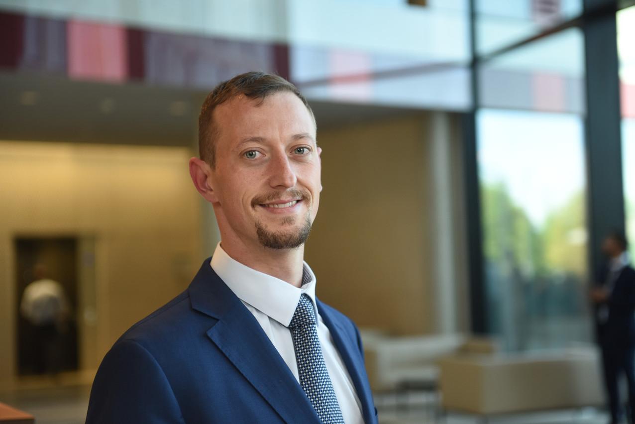 Alexandre Minarelli, EY Luxembourg Technology Risk Associate Partner Ernst & Young Services SA