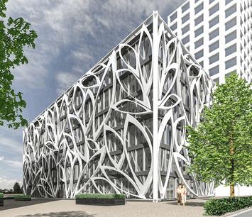 Le BIJOU, bâtiment situé à Cloche d'Or. (Crédit: Cloche d'Or)