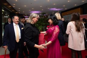 Lydie Polfer (Bourgmestre de la Ville de Luxembourg) et Lihong Zhou (Bank of China) ((Photo: Nader Ghavami))