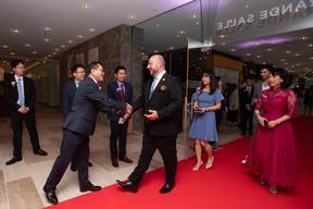 Étienne Schneider (Ministre de l'Économie) et Lihong Zhou (Bank of China) ((Photo: Nader Ghavami))