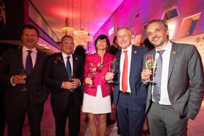 Pierre-François Wéry (PwC), Maurice Lam (Lam & Partners), Marie-Béatrice Noble (PwC Legal), Didier Mouget et Cyril Lamorlette (PwC) ((Photo: Nader Ghavami))