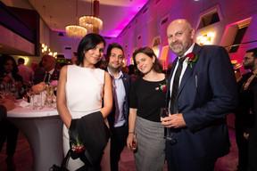 Anca Marinescu, Loïc Didelot (Mixvoip), Natalie Gerhardstein (Maison Moderne) et Duncan Roberts (Maison Moderne) ((Photo: Nader Ghavami))