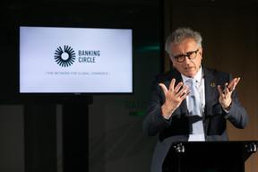 Pierre Gramegna, ministre des Finances, leur a souhaité de devenir la licorne de l'Europe. ((Photo: Matic Zorman))