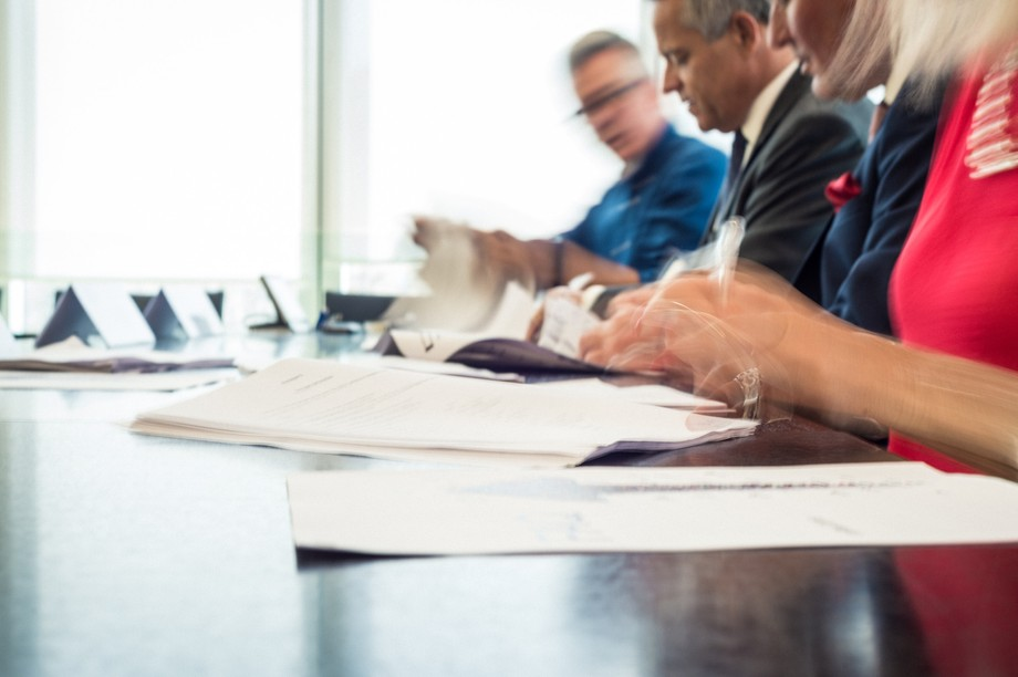 At 5pm, the renewal of the collective labour agreements for the banking and insurance sectors will be signed. (Photo: Mike Zenari/archives Maison Moderne)