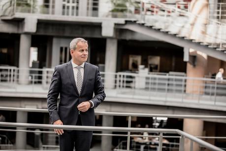 Frank Krings: «À plus long terme, ma vision pour la banque consiste à conserver une taille optimale pour s'adapter rapidement aux évolutions économiques et technologiques.» (Photo: Jan Hanrion/Maison Moderne)