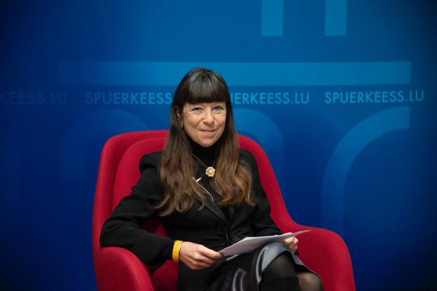 Françoise Thoma: «Seule une société unie pourra faire face aux challenges que nous devrons soulever tous ensemble» (Photo: Spuerkeess)