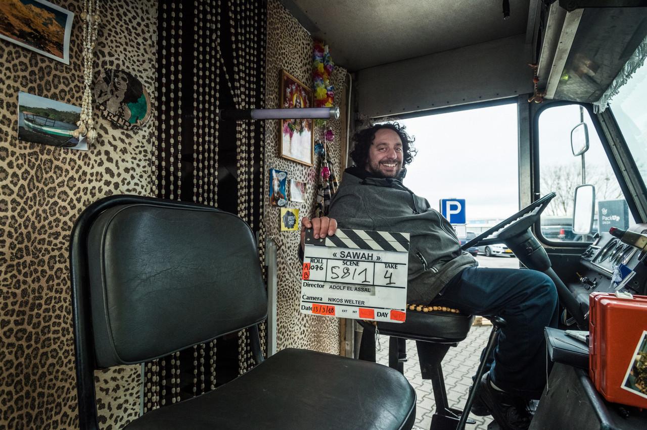 Ady ElAssal sur le tournage de son dernier long métrage,«Sawah». (Photo: Mike Zenari/archives)
