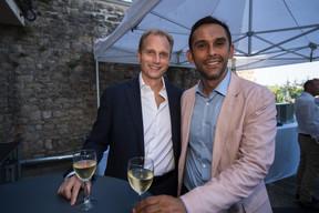 Nasir Zubairi (Lhoft), à droite ((Photo: Nader Ghavami))