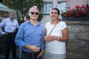Georges Muller (Cegecom) et Marina Andrieu (Wide) ((Photo: Nader Ghavami))