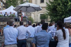 Xavier Bettel (Premier ministre), s'adressant aux invités ((Photo: Nader Ghavami))