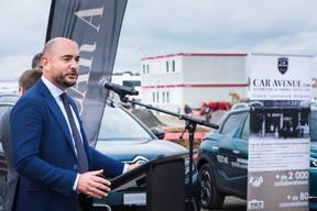 Stéphane Bailly, président du groupe Car Avenue. ((Photo: Nader Ghavami))