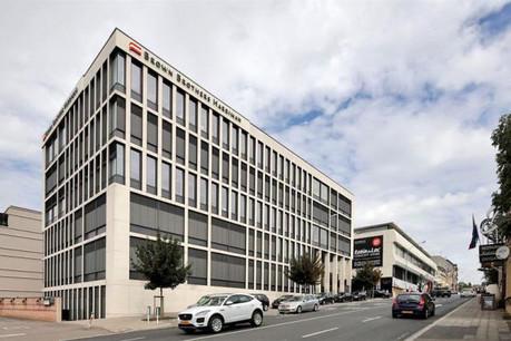 Le bâtiment Aire, en plus de ses nombreux espaces de bureaux, dispose d'une terrasse en toiture de 80m2. (Photo: Patrizia)