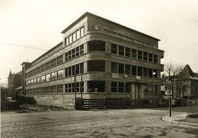 Vue de l'immeuble pendant sa construction. ((Photo: DR))