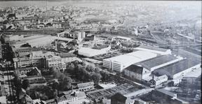 Vue historique du quartier de Hollerich et du site Heintz van Landewyck. ((Photo: DR))