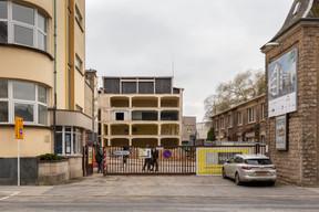Les travaux de démolition concernent les ajouts des années 1950. ((Photo: Romain Gamba / Maison Moderne))