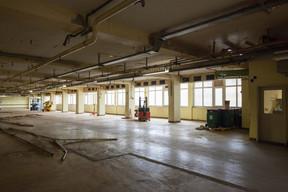 Vue intérieure du bâtiment avant transformation. ((Photo: Steve Troes))