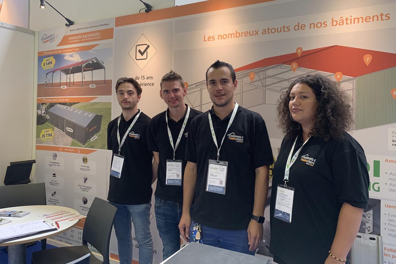L'équipe de Batimentsmoinschers.com est présente sur la Foire de Libramont depuis 12 ans. (Photo: Paperjam)