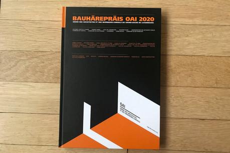 Le catalogue du Bauhärepräis OAI2020 rassemble tous les projets candidats. (Photo: Paperjam)