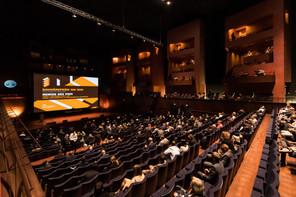 À l'occasion d'une cérémonie, les Bauhärepräis OAI 2020 ont été remis à la Philharmonie. (Photo: Nader Ghavami/Maison Moderne)