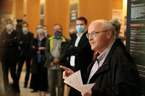 Pierre Hurt (directeur de l'OAI) ((Photo:Matic Zorman / Maison Moderne))