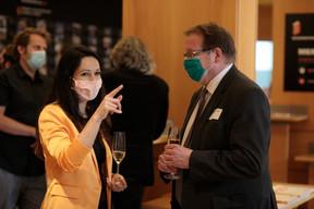 À gauche, Semiray Ahmedova, coprésidente du jury du Bauhärepräis OAI 2020 ((Photo:Matic Zorman / Maison Moderne))