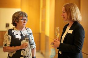 Christine Mörgen et Katharina Häuser, membres du jury du Bauhärepräis OAI 2020 ((Photo:Matic Zorman / Maison Moderne))