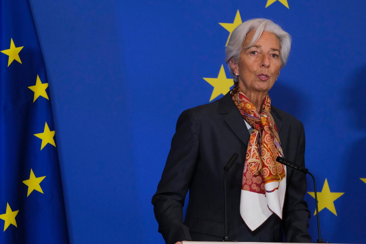 La présidente de la BCE, ChristineLagarde, se montre consciente de la nouvelle dégradation du climat économique. (Photo: Shutterstock)