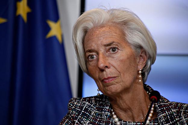 La présidente de la BCE, Christine Lagarde, a expliqué que ses équipes prévoyaient une inflation «qui restera plus faible plus longtemps». (Photo: Shutterstock)