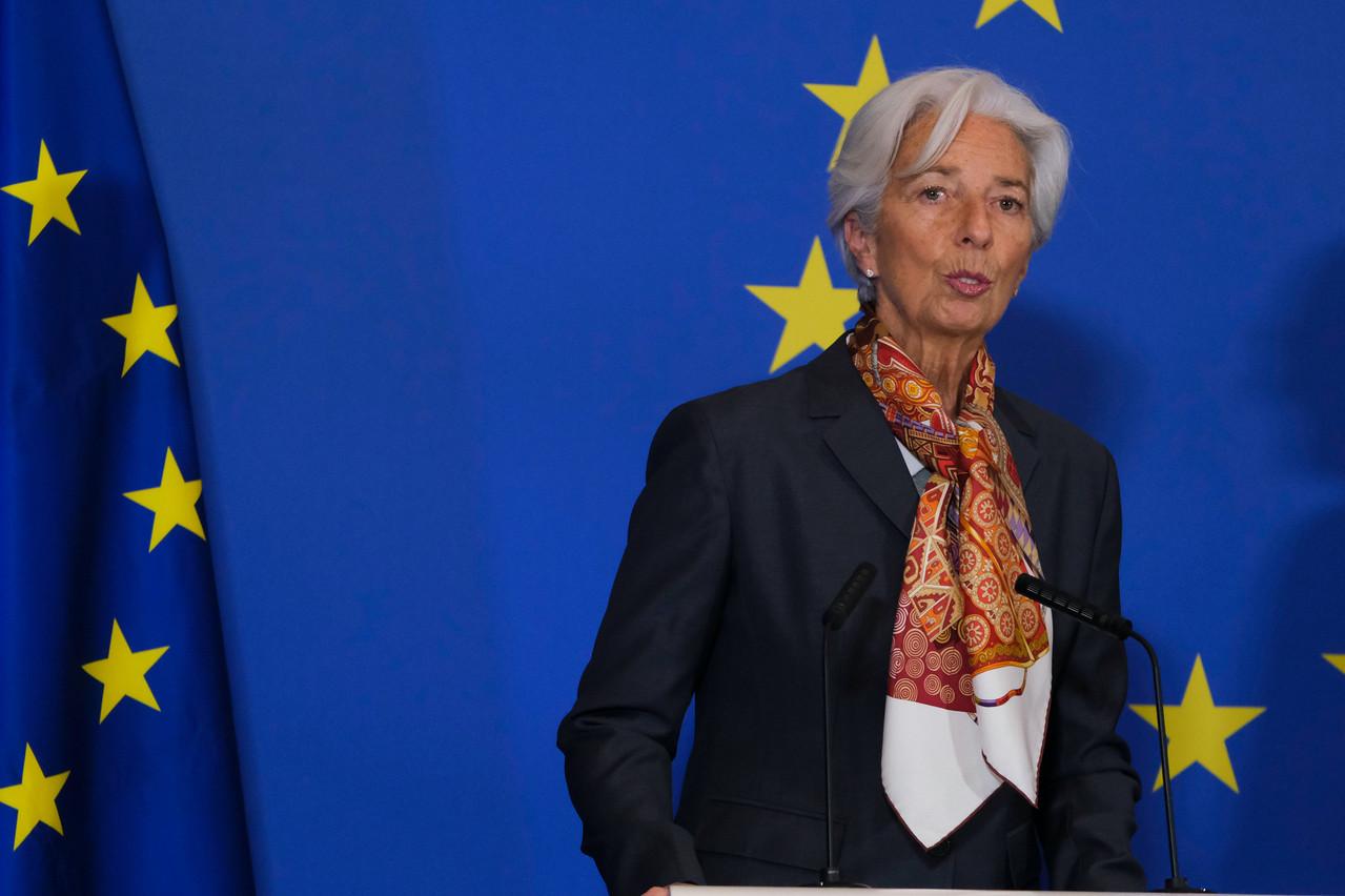 Christine Lagarde maintient son engagement à conserver des conditions de financement favorables jusqu'à la reprise durable de l'économie. (Photo: Shutterstock)