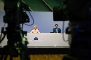 Christine Lagarde, présidente de la BCE,a appelé les dirigeants européens à adopter «rapidement» un plan de relance économique «ambitieux» face à la pandémie de coronavirus.  (Photo: BCE)