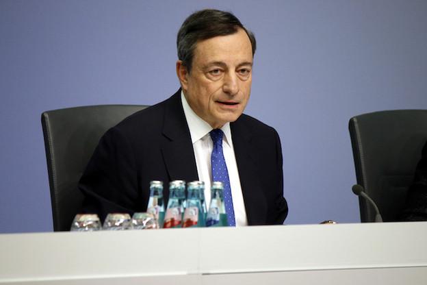 Mario Draghi craint toujours les effets de la guerre commerciale au niveau mondial sur l'économie européenne. (Photo: Shutterstock)