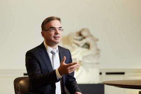 Claude Hirtzig:«On a fait un bond de 2ans en 10mois». (Photo: BCEE/101Studios)