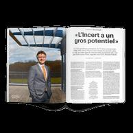 Benoît Poletti, CEO d'Incert ((Photo: Andrés Lejona / Maison Moderne))
