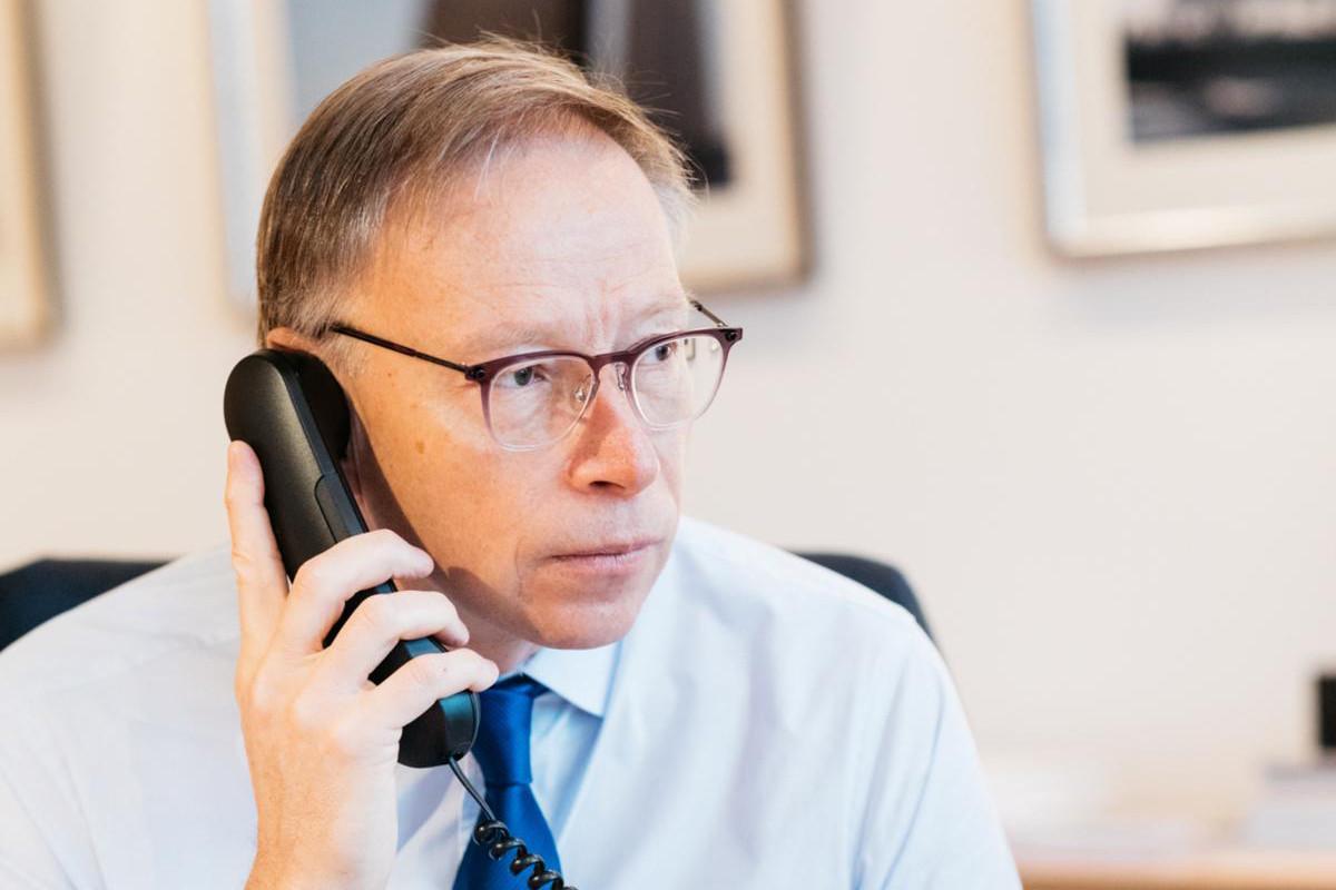 Geoffroy Bazin: «Il faut faire attention à répondre à de nouvelles attentes, comme des services digitaux plus personnalisés.» (Photo: Edouard Olszewski)