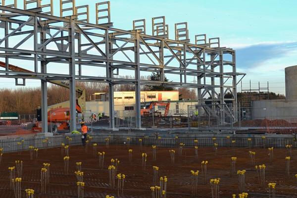 Le site gantois d'ArcelorMittal servira de test pour de nouvelles technologies destinées à limiter les émissions de CO 2 . (Photo: ArcelorMittal)
