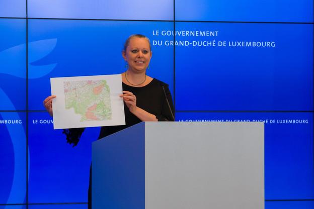 La ministre belge de l'Énergie et de l'Environnement, Marie-Christine Marghem, a dénoncé mardi «une campagne de désinformation» de son homologue luxembourgeoise. (Photo: SIP/Emmanuel Claude)