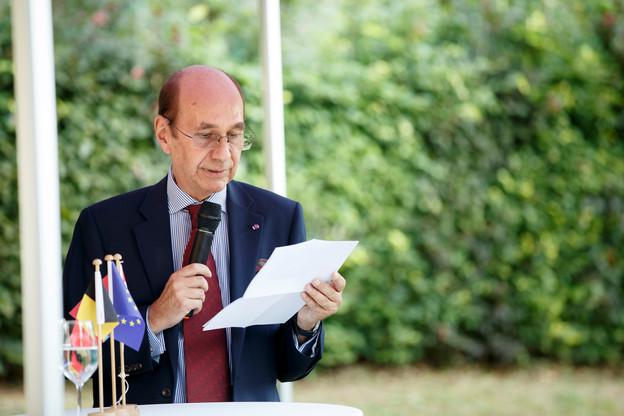 Jean-Louis Six, ambassadeur de Belgique, prépare déjà la visite d'État des souverains belges qui aura lieu en octobre. (Photo: Maison Moderne/Archives)