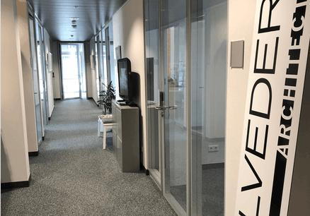 L'équipe de Belvedere Architecture a réfléchi à l'aménagement de ses propres espaces en temps de Covid-19. (Photo: Belvedere Architecture)