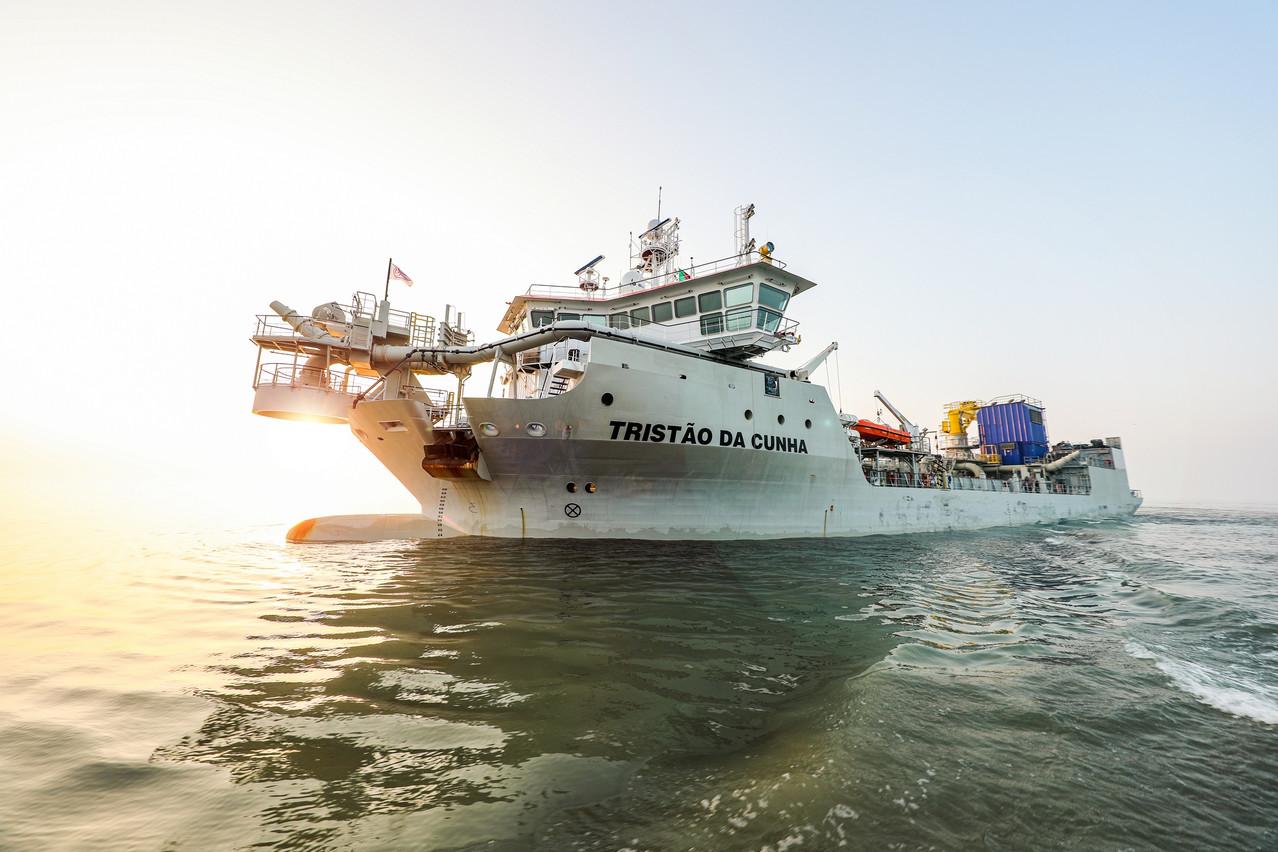 Jan De Nul a investi plus de 700 millions d'euros dans de nouveaux navires et équipements de drague. (Photo: Jan De Nul Group)