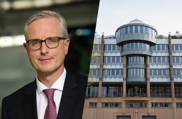 FrankRückbrodt, le nouveau chief country officer Luxembourg pour Deutsche Bank, entend poursuivre la stratégie de transformation de la banque. (Photomontage: Maison Moderne. Photos: Deutsche Bank; Romain Gamba/archives)