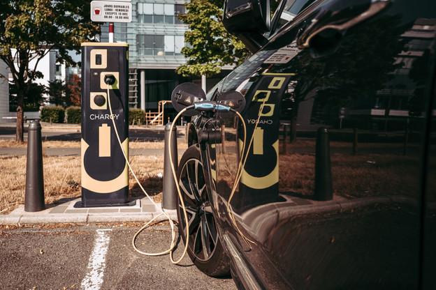 Dans une année marquée par la crise et le recul de la consommation industrielle, Encevo a continué à installer des bornes de recharge Chargy et SuperChargy. (Photo: Chargy)