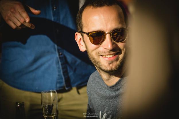 Bernard Michaux combine depuis plusieurs années et avec habileté les fonctions de producteur de cinéma et de patron de bistrot (Photo: Greg Mebille/Letspicsaboutit)