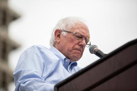 Bernie Sanders concourait pour la deuxième fois à l'investiture démocrate. (Photo: Shutterstock)
