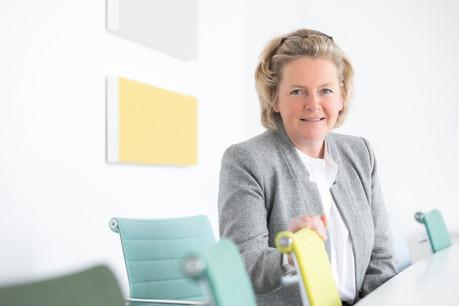 Patricia Delcourt, directrice du département Espace de bureaux pour CBRE Luxembourg, s'exprime sur le concours Best Office Space of the Year. (Photo: Blitz Agency/CBRE Luxembourg)