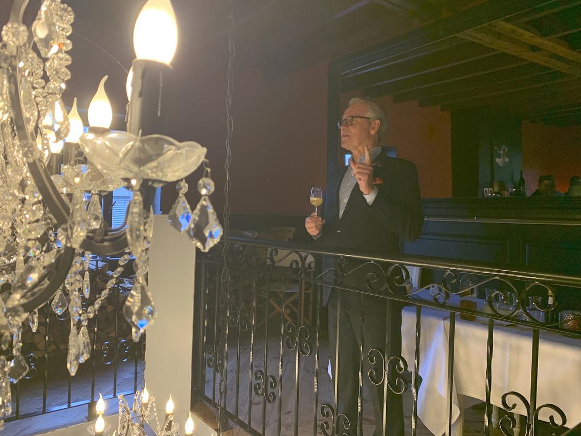 MikaelLundén, un des 2.703Keepers of the Quaich, société secrète mondiale des ambassadeurs du whisky écossais. (Photo: Paperjam)
