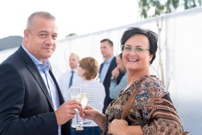 Daniel Ries (BGL) et Noelle Fery (BGL) ((Photo: Marie De Decker))