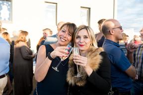Nathalie Dubois (Geri Management) et Angéline Prévot (Geri Management) ((Photo: Marie De Decker))