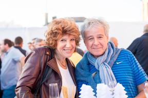 Marie-Christine Heuveneers (Iclux Ingénieurs-Conseils) et Dominique Pleeck (Acustica Lux) ((Photo: Marie De Decker))
