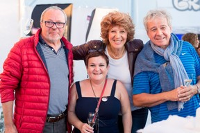Jean-Luc Dessoy (ICLux) & Marie-Christine Heuveneers (ICLux), Dominique Pleeck (Acustica Lux) et Corinne Testi (Betic Ingénieurs-Conseils) ((Photo: Marie De Decker))